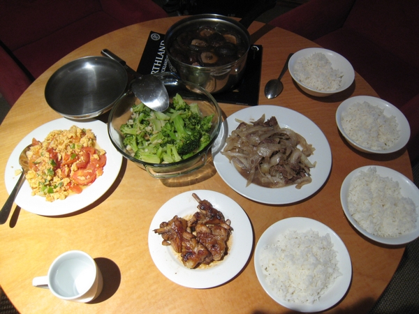 我們的台灣菜!