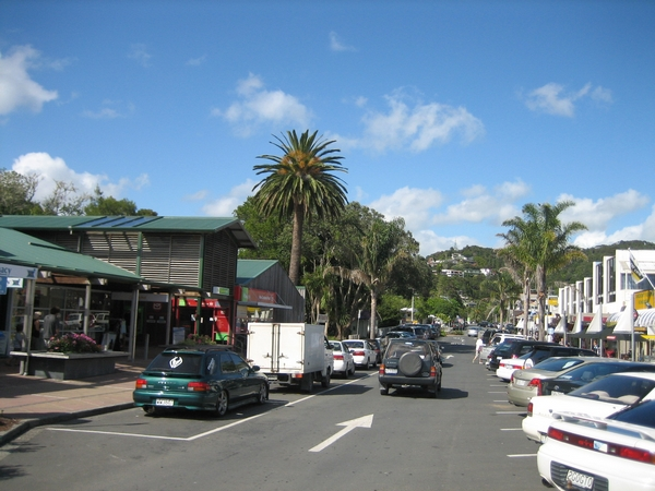 帶點南洋熱帶風味的Pahia街景