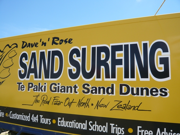 Te Paki 的賣點就是 Sand Surfing 滑沙!