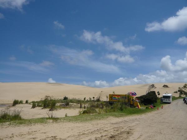 有美國西部片的感覺,就是沙子太白了點