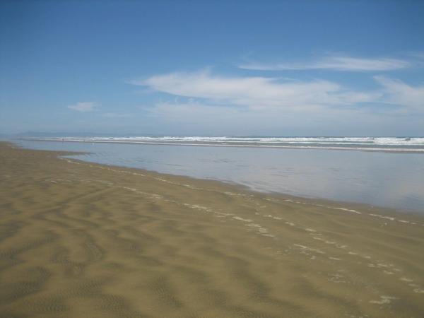 90 Mile Beach 一景