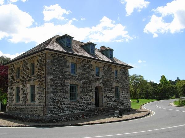 紐西蘭最古老的歐式石造建築,Stone Store
