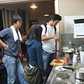 三位大廚正在料理最後的晚餐