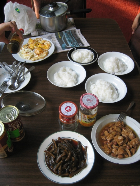 又是一頓滿滿台灣味的早餐,哈
