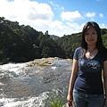 Whangarei Falls 上游溪流