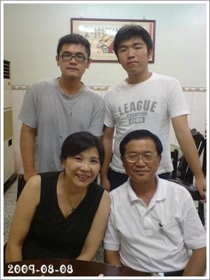20090809 風雨無阻之父親節大餐 (2)
