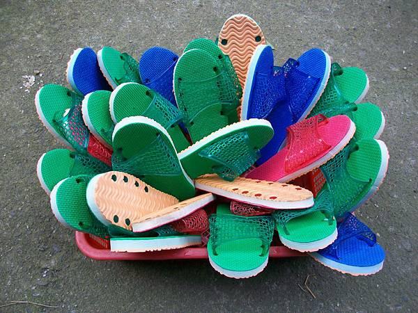 晾曬室內拖鞋
