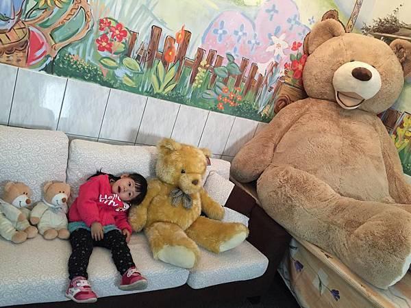 溫馨的熊熊民宿