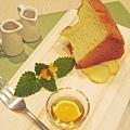 蜂蜜薑汁戚風蛋糕