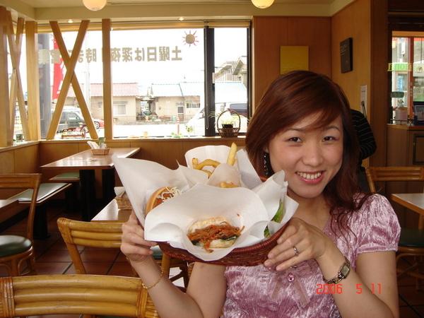 第一次吃MOS burger