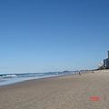 美到一個不行呀 ~~ 沙灘真乾淨ㄋㄟ....