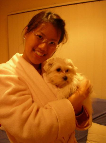 Mina 和她媽