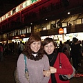 In front of 士林night market