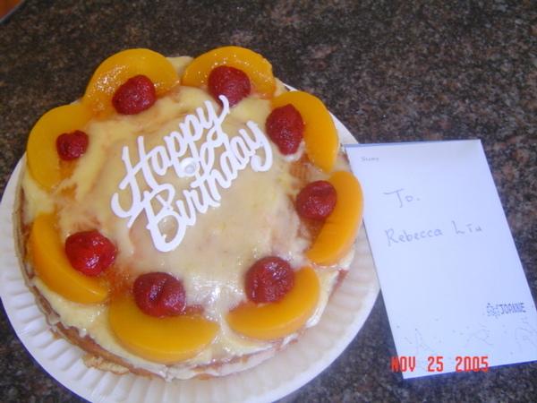 Joanne+Ella 親手做得蛋糕耶!
