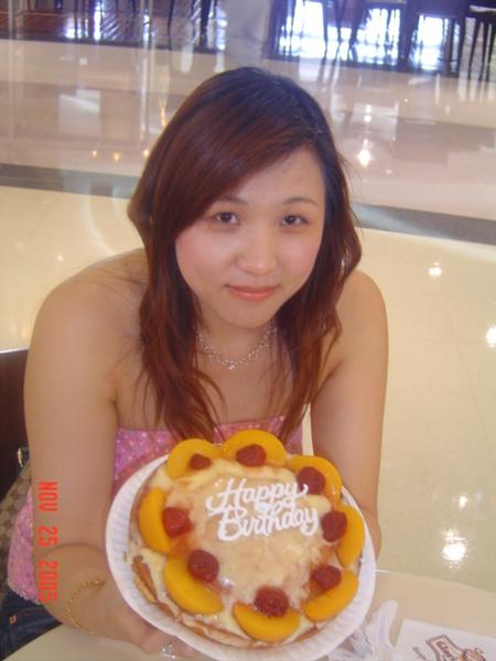 充滿愛心的蛋糕....