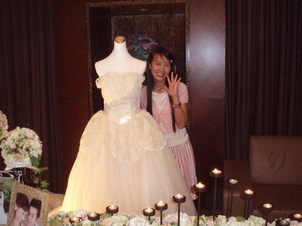 浪漫的公主白紗