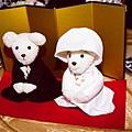 貴醬妹親手縫製的小熊