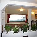 民宿的房間也有面海的view