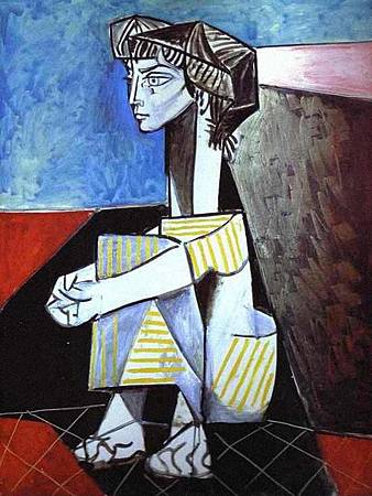picasso--Jacqueline with Crossed Hands. 1954.jpg