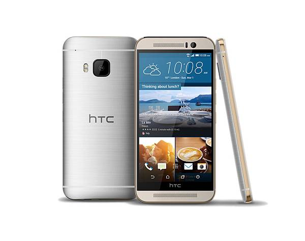 HTC One M9玫瑰金搭配月光銀