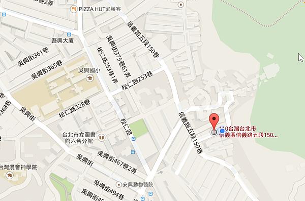 2015-04-08 01_47_25-110台北市信義區信義路五段150巷418弄9號 - Google 地圖