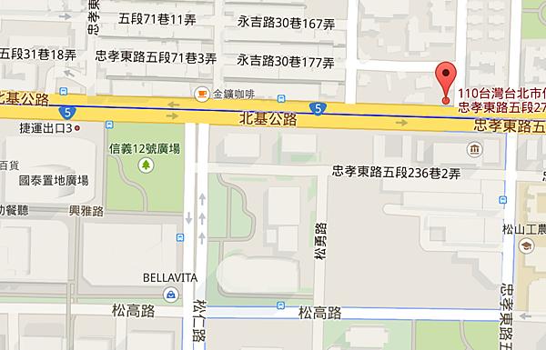 2015-04-08 01_47_48-110台北市信義區忠孝東路五段273號 - Google 地圖