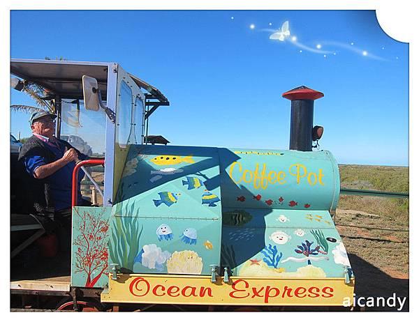 CARNARVON 小火車和可愛的阿嬤