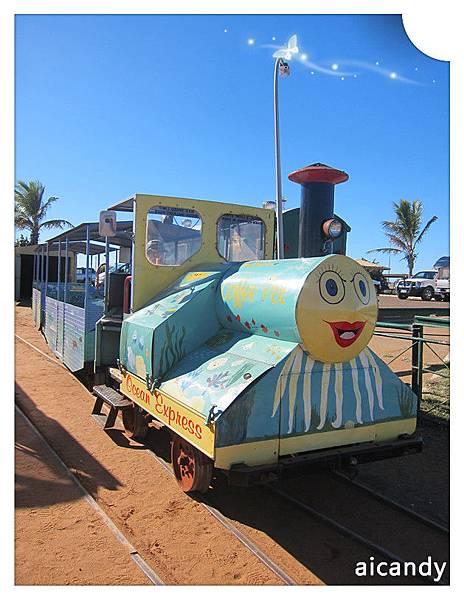 CARNARVON 小火車微笑圖
