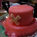喬巴帽子形狀的慕絲蛋糕