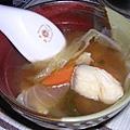 蔬菜魚片湯