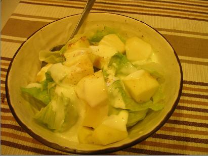 蘋果美生菜沙拉
