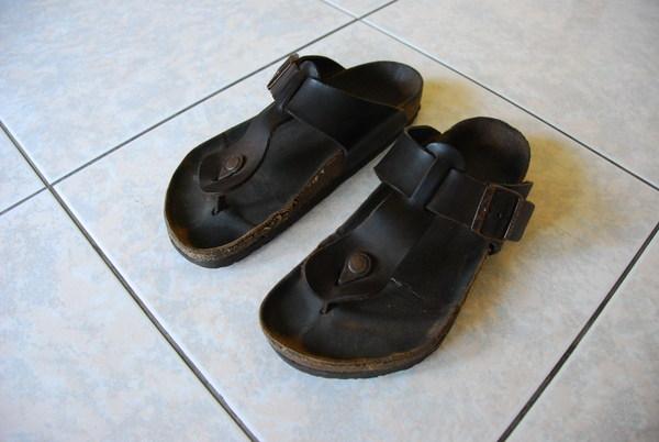 我的第一雙勃肯鞋