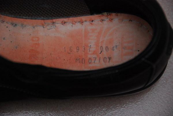 鞋墊壓著的地方