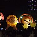 國父紀念館的大氣球偶
