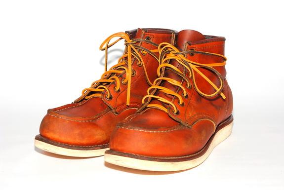 換上皮革鞋帶