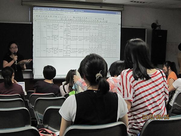 英文領域備課會議