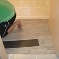 5樓房間貼PVC木紋磚