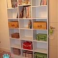 美麗又實用的書櫃