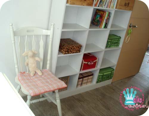 書櫃旁邊也要有張復古椅