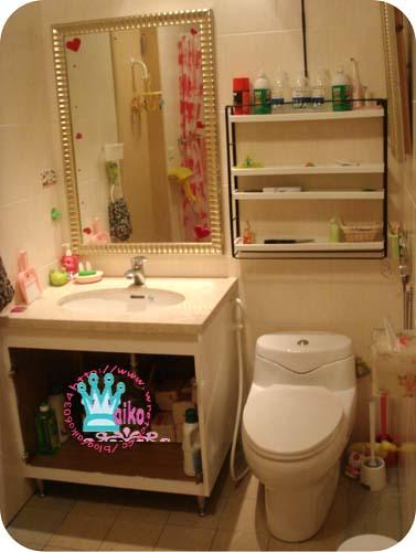 浴櫃改造中