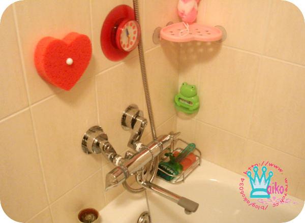 愛心浴缸刷