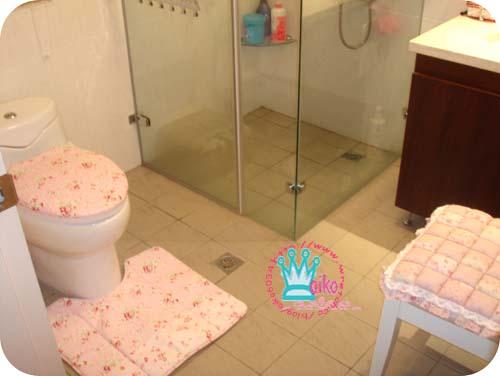 整個很方的浴室
