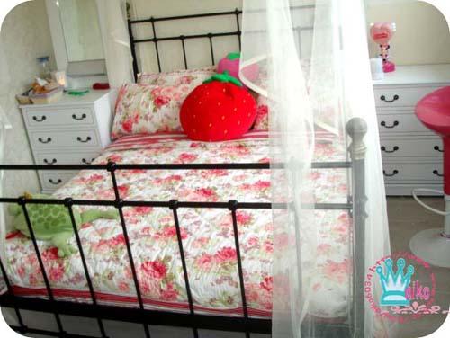 床架與蚊帳超搭配