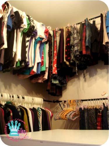 ikea轉角配件可以讓衣服收納量更多唷