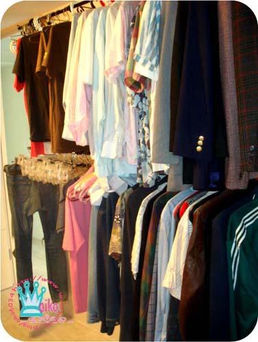 kj的衣服區