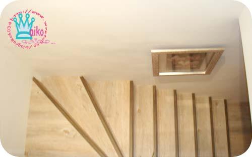 改造後的樓梯美多了