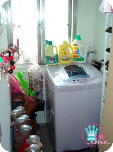 洗衣房兼鞋帽區
