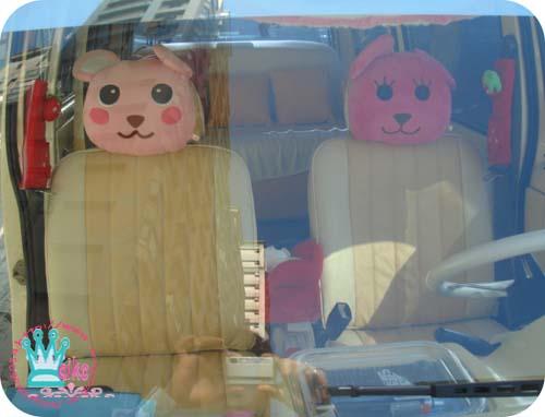 裡面的momo頭枕超滑稽