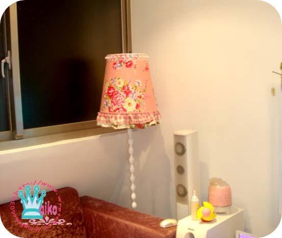 浪漫鄉村燈罩