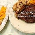頂級莎朗心佐手指馬鈴薯+烤蔬菜